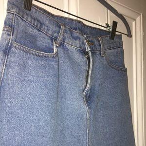 Brandy jean skirt